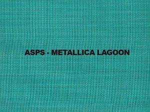 ASPS METALLICA LAGOON