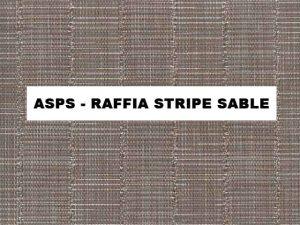 ASPS-Raffia Stripe Sable