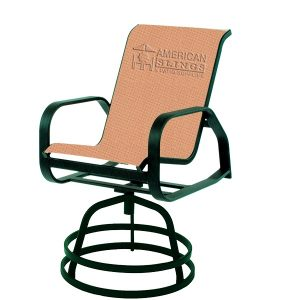 Bar Stool Sling Brown Jordan