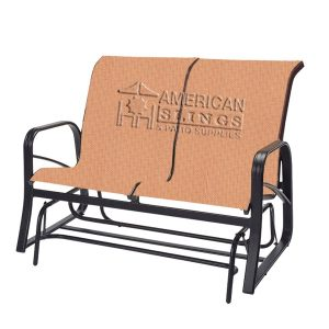 Loveseat Sling-Brown Jordan