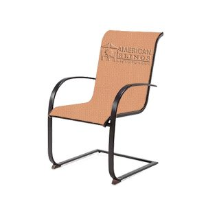 Custom, brand, Chair, Chaise, Patio furniture, lounge, sling with velcro