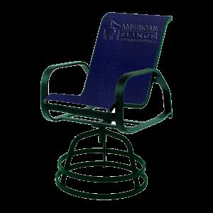 chair slings bar stool tropitone
