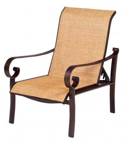 Woodard Sling Patio Furniture.Adjustable Chair Sling Woodard American Slings